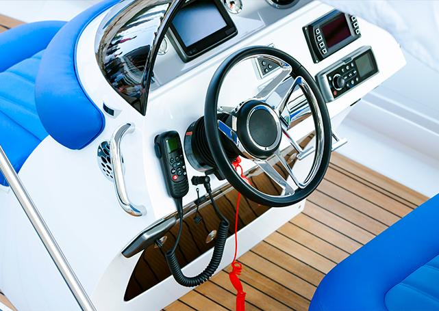 Boks usługowy 2 - Elektryka elektronika jachtowa